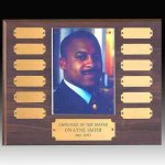 Perpetual Plaque with Photo Holder 12 Plate Perpetual Plaques