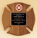 Maltese Cross Fireman Award Achievement Awards