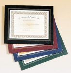 Leatherette Frame Certificate Holder Achievement Awards