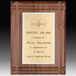 Deep Groove Plaque Achievement Awards