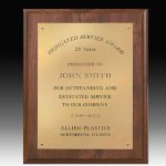 Rectangle Plaque Achievement Awards