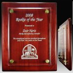Piano Plaque with Floating Acrylic Face Achievement Awards