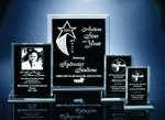 Back Beveled Black Painted Plaque Achievement Awards