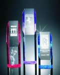 Slant Face Tower Acrylic Award Acrylic Awards Trophy