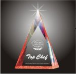 Multi Faceted Pyramid Acrylic Award Acrylic Awards Trophy