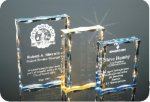 Scalloped Edge Plaque Acrylic Award Acrylic Awards Trophy