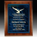 Plaque with Acrylic Nameplate Acrylic & Glass Plaques