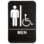 ADA Men's Room Handicap Accessible ADA Signs