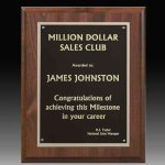 Classic Double Plated Plaque Award Plaques