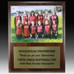 Team Photo Plaque Certificate Plaques