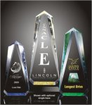 Faceted Obelisk Acrylic Award Corporate Acrylic Awards Trophy