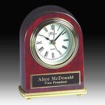 Piano Finish Desk Clock Desk Clocks