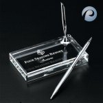 Optical Crystal Pen Set Desk Pen Sets
