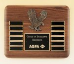 Eagle American Walnut Perpetual Plaque Eagle Plaques