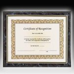 Gold Frame Certificate Plaque Employee Awards