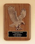 American Walnut Plaque with Eagle Casting Executive Plaques