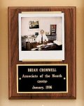 American Walnut Photo Plaque Executive Plaques