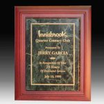Marble Insert Plaque Executive Plaques