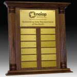 Perpetual Plaque or Trophy Executive Plaques