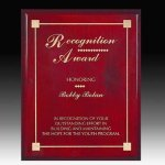 Piano Finish Direct Laser Plaque Executive Plaques