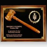 Gavel Plaque Gavels