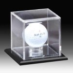 Acrylic Golfball Display Golf Hole in One