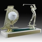 Golf Hole In One Trophy Golf Trophies