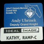 Laser Engraved Plastic Name Badges Laser Engraved Plastic Name Badges