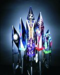 Quartz Cut Acrylic Award Obelisk Awards
