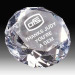 Diamond Crystal Award Optical Crystal