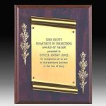 Scroll Plaque Religious Awards