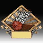 Basketball Diamond Resin Resin Trophies