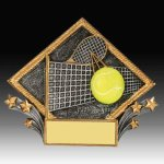 Tennis Diamond Resin Resin Trophies