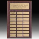 24 Plate Perpetual Plaque Plate Sales Awards