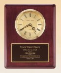 Rosewood Piano Finish Vertical Wall Clock Secretary Gifts